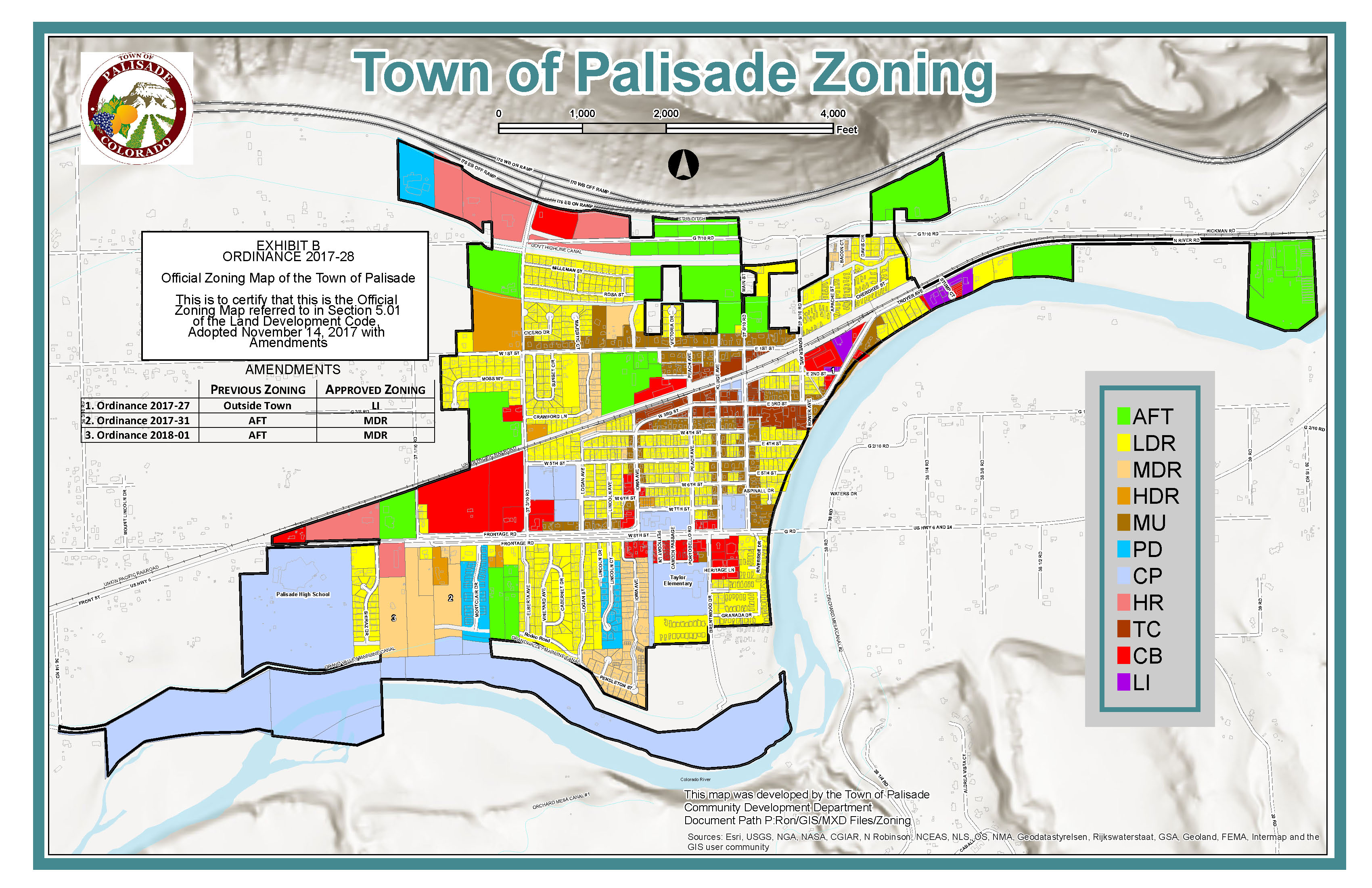 Official Zoning Map March 2018