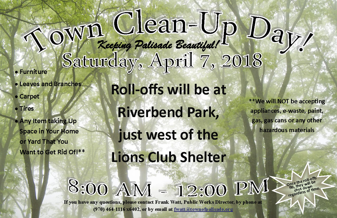 Town Clean Up Day