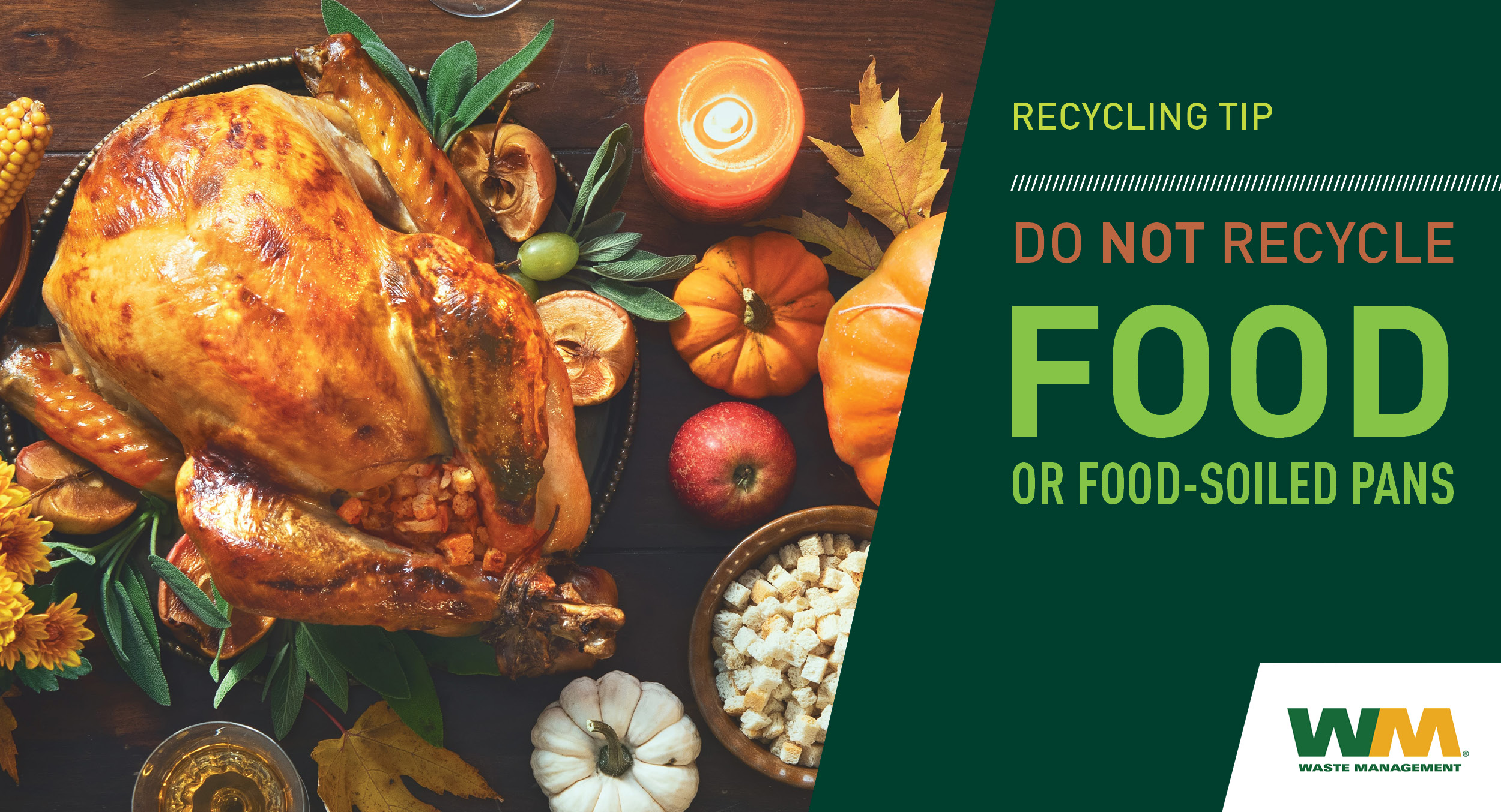 RECYCLE No Food Nov